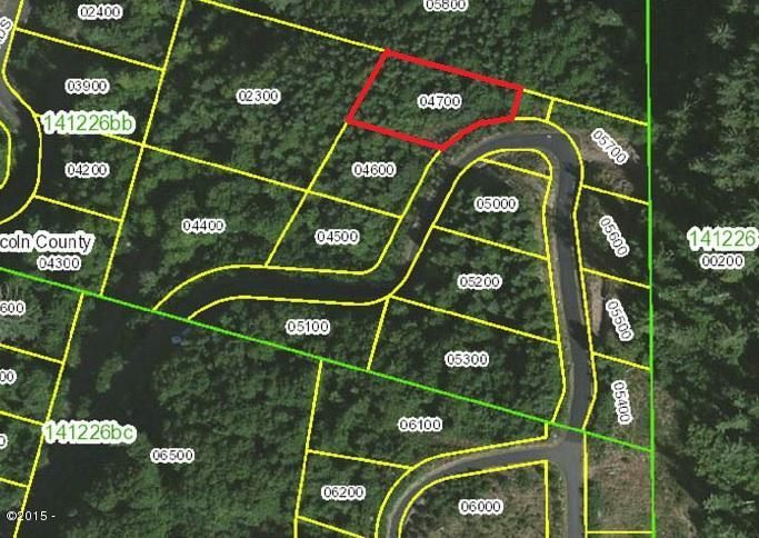 900 BLK Horizon Hill Road Lot 37, Yachats, OR 97498 - Aerial Mapped view
