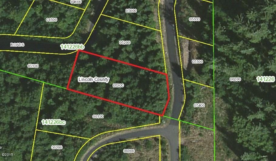 900 BLK Horizon Hill Road Lot 40, Yachats, OR 97498 - Aerial Mapped view