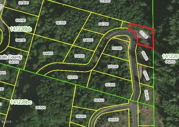 900 BLK Horizon Hill Road Lot 44, Yachats, OR 97498 - Aerial Mapped view