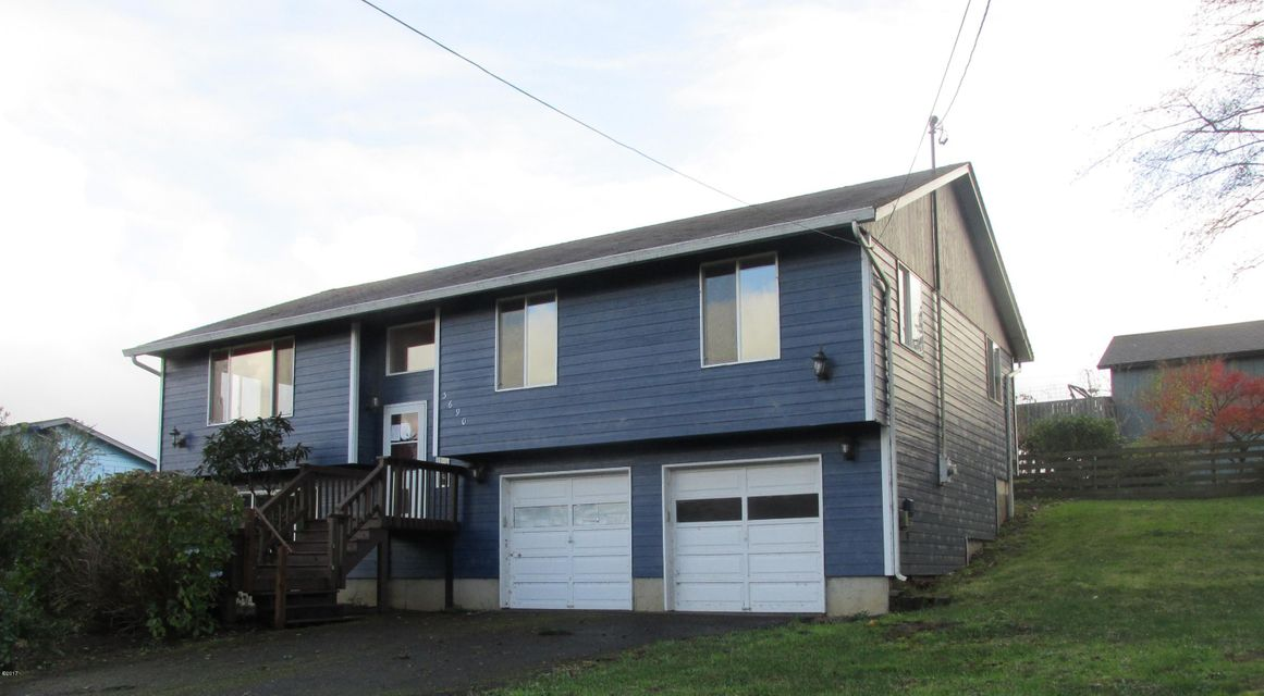 3690 NE 40th St, Neotsu, OR 97364 - Front of house