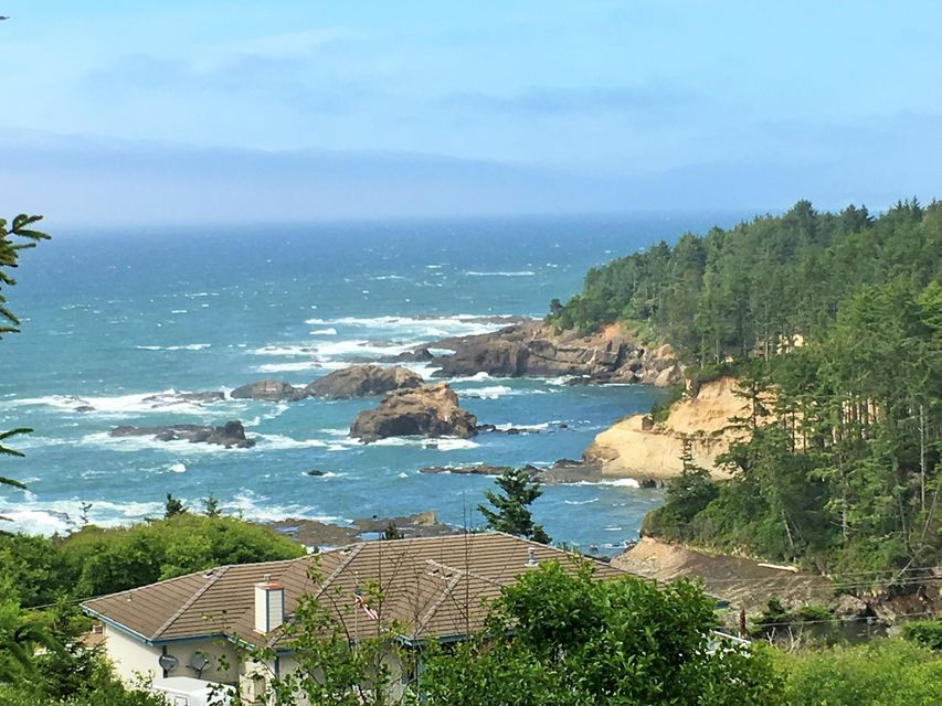 TL107 Boiler Bay St, Depoe Bay, OR 97341 - View from Lot of Boiler Bay