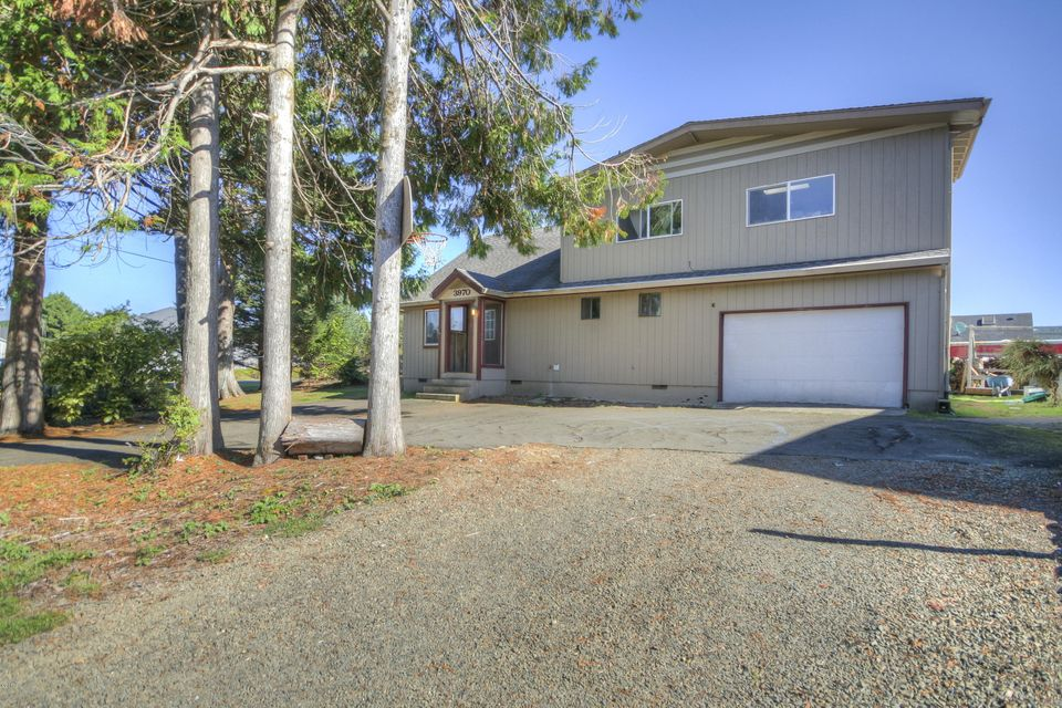 3970 Evergreen Ave, Depoe Bay, OR 97341 - West Elevation