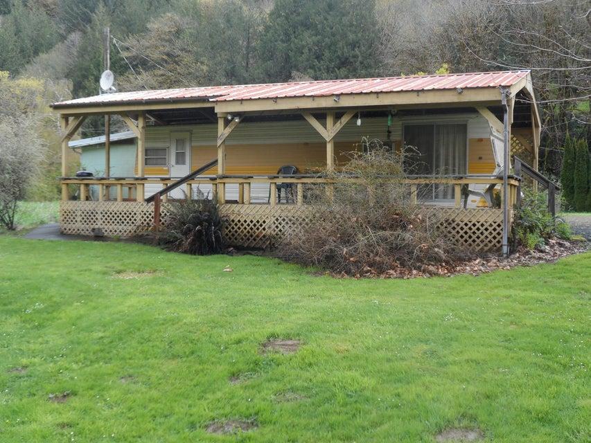 503 E Alsea Riviera Dr, Tidewater, OR 97390 - Riverfront property w/RV