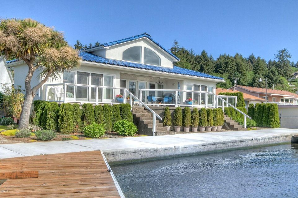 1012 NE Lake Dr, Lincoln City, OR 97367 - One of the finest homes on Devils Lake