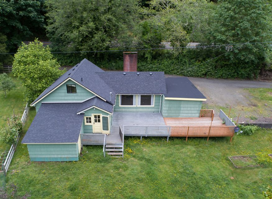 4312 S Siletz Hwy, Lincoln City, OR 97367 - River Front Cabin w/ Acre