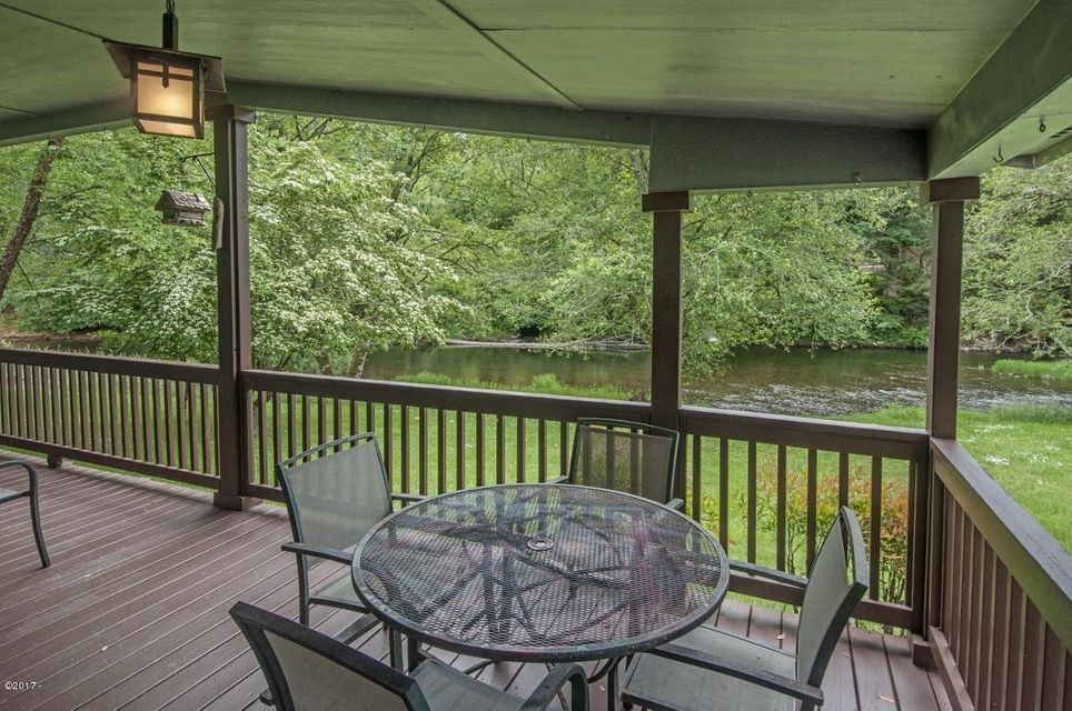 836 N River Bend Rd, Otis, OR 97368 - Exceptional River Front Home