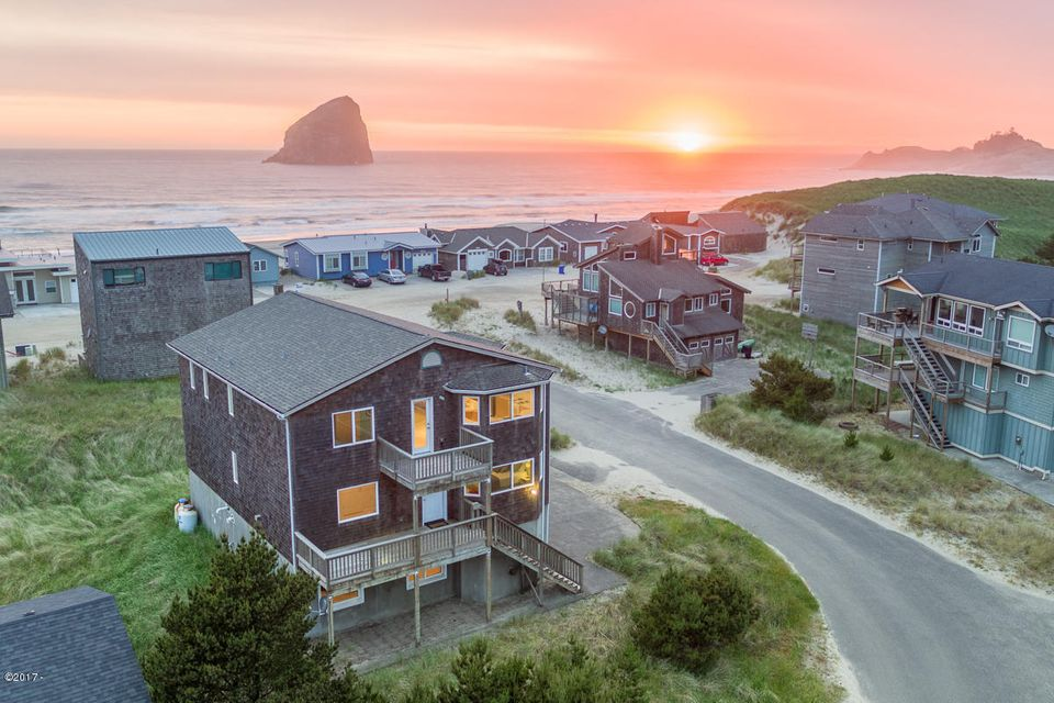 34120 Sea Swallow Dr, Pacific City, OR 97135 - Exterior @ Sunset