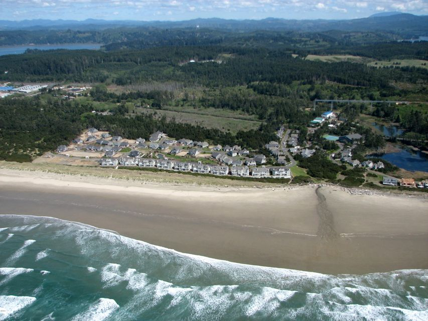 5912 SW Cupola Dr, Newport, OR 97366 - Aerial view from ocean