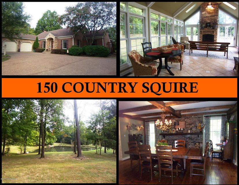 Single Family Home for Sale at 150 Country Squire Lane Bardstown, Kentucky 40004 United States