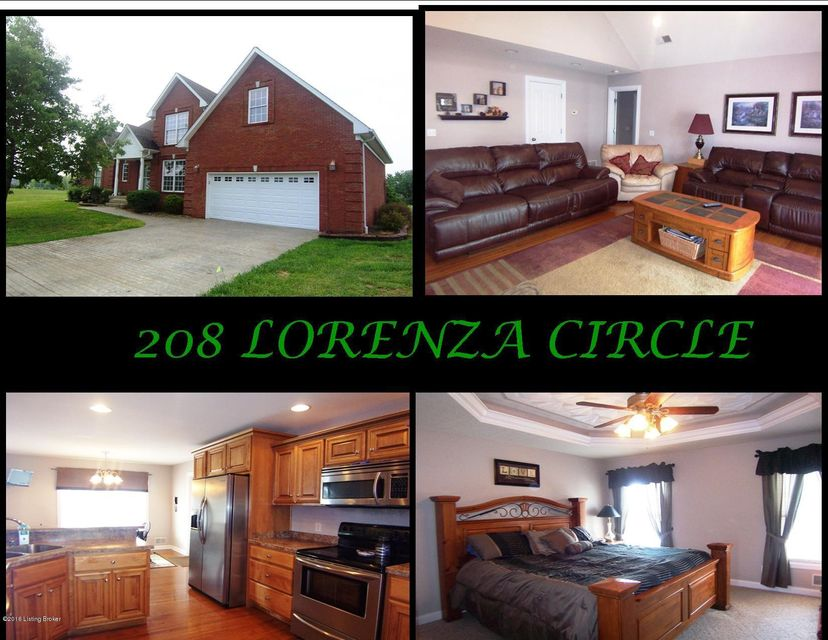 Single Family Home for Sale at 208 Lorenza Circle Bardstown, Kentucky 40004 United States