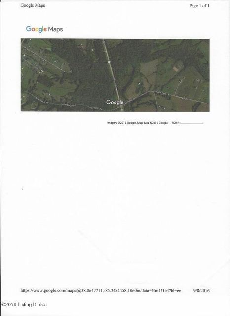 Land for Sale at 2300-2301 Taylorsville Taylorsville, Kentucky 40071 United States