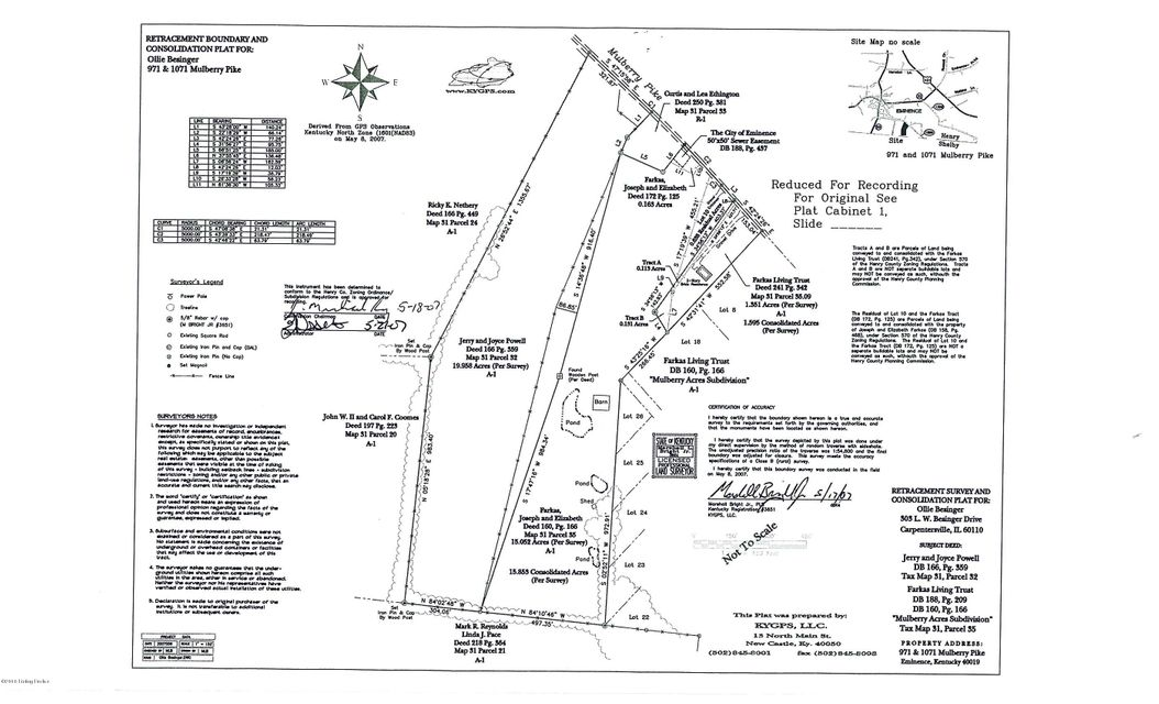 Farm / Ranch / Plantation for Sale at 1071 Mulberry Pike Eminence, Kentucky 40019 United States