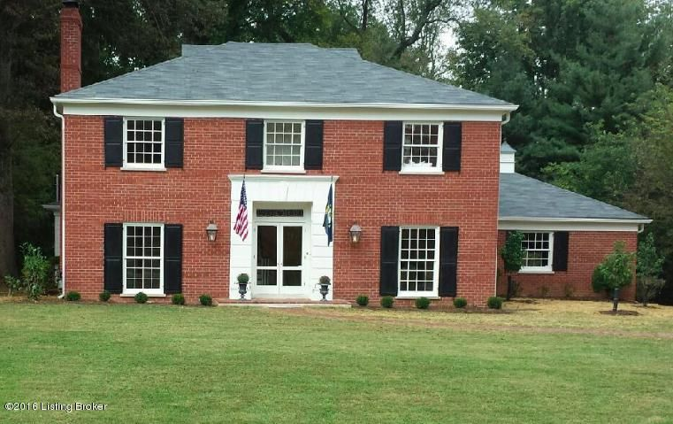 Single Family Home for Sale at 6209 Glen Hill Road Louisville, Kentucky 40222 United States