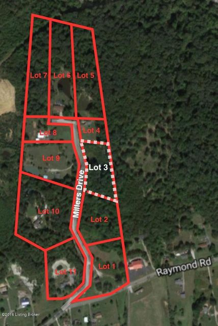 Additional photo for property listing at Lot 3 Millers  Shepherdsville, Kentucky 40165 United States