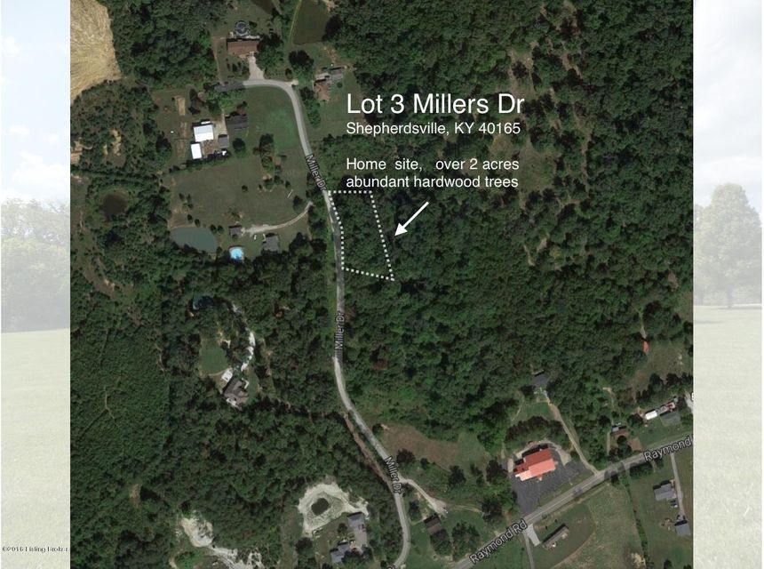 Land for Sale at Lot 3 Millers Shepherdsville, Kentucky 40165 United States