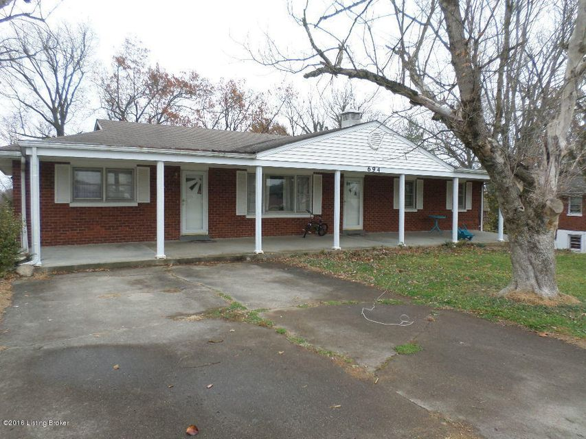 Single Family Home for Sale at 694 N Logsdon Pkwy Radcliff, Kentucky 40160 United States
