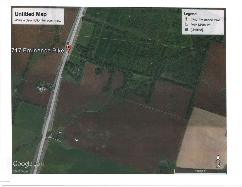 Land for Sale at 9717 N Eminence Pike 9717 N Eminence Pike Eminence, Kentucky 40019 United States