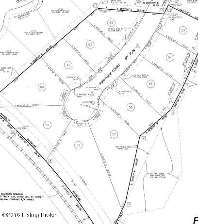 Land for Sale at Lot 59 Pointview Lot 59 Pointview Louisville, Kentucky 40299 United States