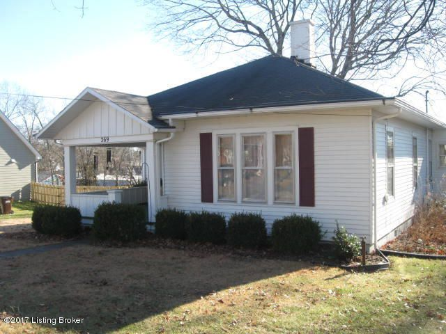 Single Family Home for Sale at 269 College Street New Castle, Kentucky 40050 United States