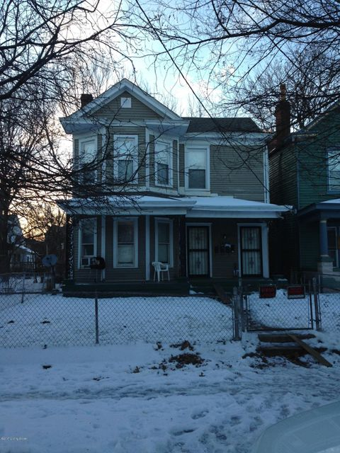 Single Family Home for Rent at 1440 S Brook Street Louisville, Kentucky 40208 United States