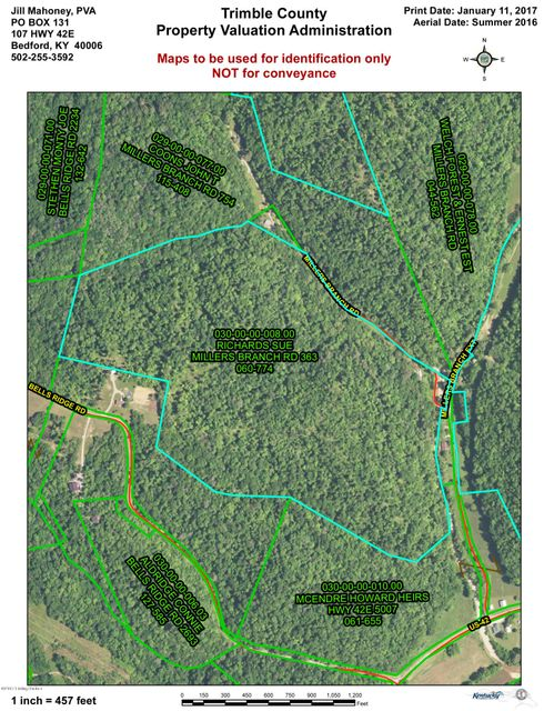 Land for Sale at 74 Millers Branch Bedford, Kentucky 40006 United States