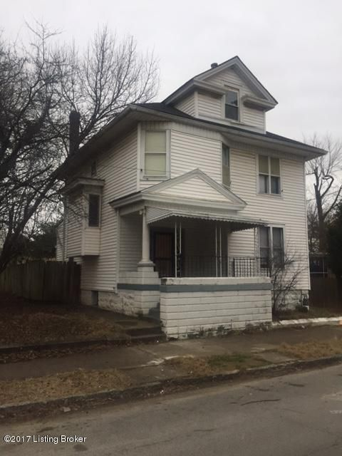 Single Family Home for Sale at 1213 S Floyd Street Louisville, Kentucky 40203 United States