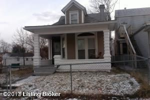 Single Family Home for Rent at 2808 W Market Street Louisville, Kentucky 40212 United States