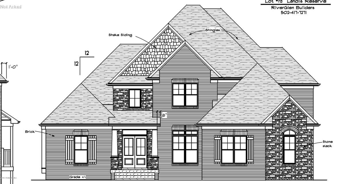Single Family Home for Sale at Lot 19 Grace Court Louisville, Kentucky 40245 United States