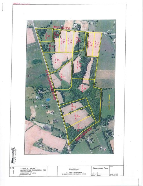 Land for Sale at Tract 13 Locust Shelbyville, Kentucky 40065 United States