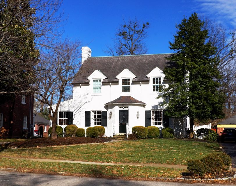 Single Family Home for Sale at 559 Sunnyside Drive Louisville, Kentucky 40206 United States