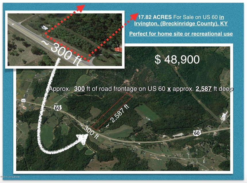 Land for Sale at Us-60 Irvington, Kentucky 40146 United States