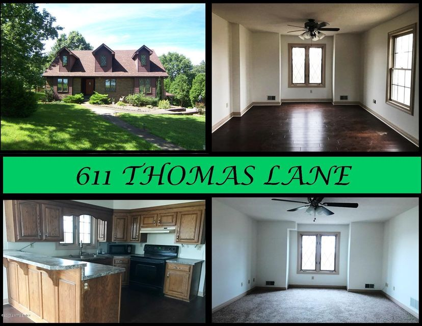 Single Family Home for Sale at 611 Thomas Lane Bloomfield, Kentucky 40008 United States
