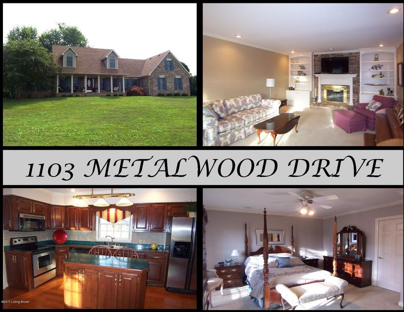 Single Family Home for Sale at 1103 Metalwood Drive Bardstown, Kentucky 40004 United States