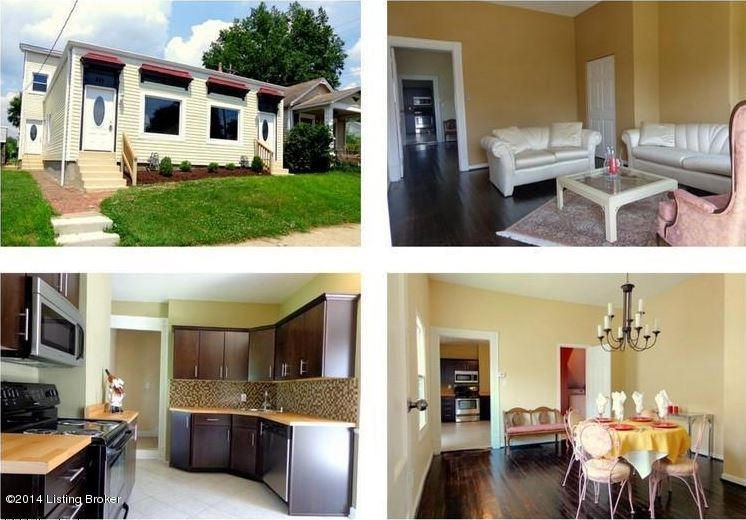 Single Family Home for Rent at 949 Mulberry Street Louisville, Kentucky 40217 United States