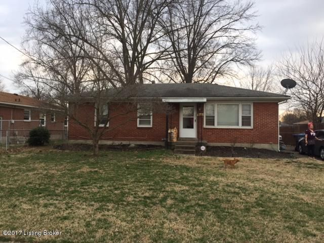 Single Family Home for Sale at 4908 Lila Avenue Louisville, Kentucky 40258 United States
