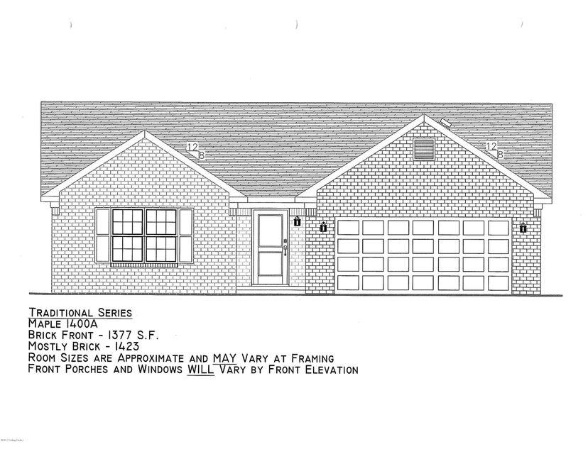 Single Family Home for Sale at Lot 322 Garnette Court Mount Washington, Kentucky 40047 United States