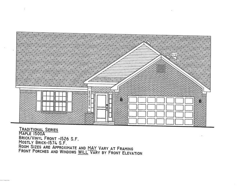 Single Family Home for Sale at Lot 162 Mandarin Court Shepherdsville, Kentucky 40165 United States