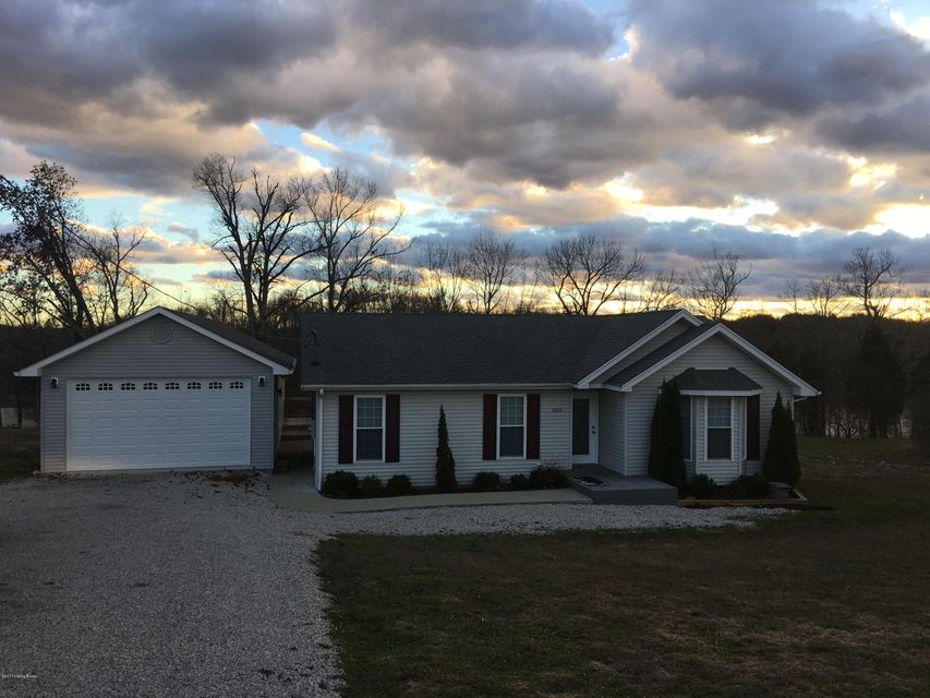 Single Family Home for Sale at 853 Sandy Beach Lane McDaniels, Kentucky 40152 United States