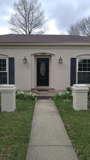 Additional photo for property listing at 1805 Bainbridge Row Drive  Louisville, Kentucky 40207 United States