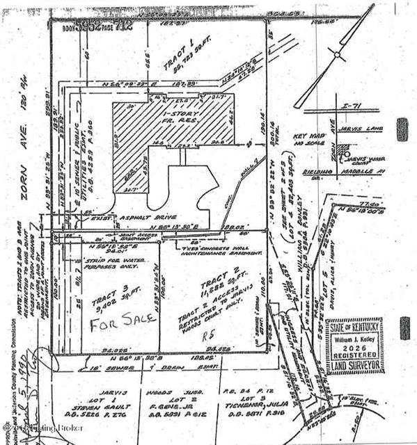 Land for Sale at 605A Zorn Louisville, Kentucky 40206 United States