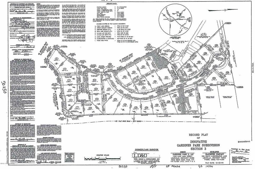 Land for Sale at 16712 Taddington 16712 Taddington Louisville, Kentucky 40245 United States