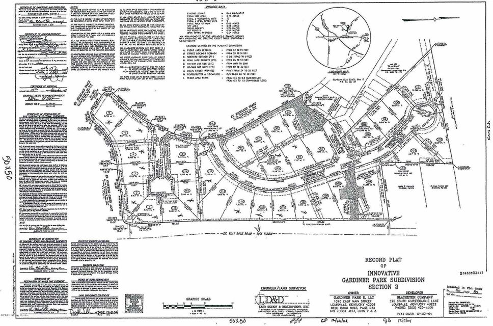 Land for Sale at 16706 Bisley Louisville, Kentucky 40245 United States