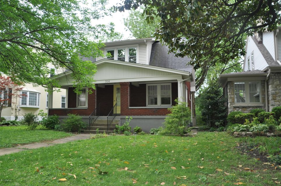 Single Family Home for Sale at 314 Pleasantview Avenue Louisville, Kentucky 40206 United States