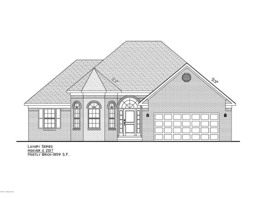 Single Family Home for Sale at Lot 622 Highland Ridge Drive Mount Washington, Kentucky 40047 United States