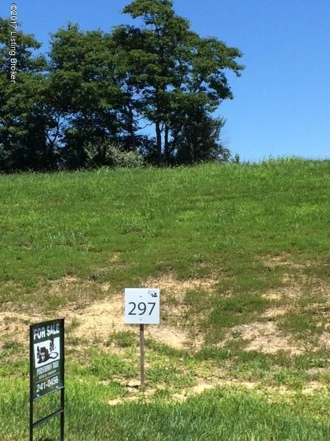 Land for Sale at Lot 297 E Persimmon Ridge Louisville, Kentucky 40245 United States