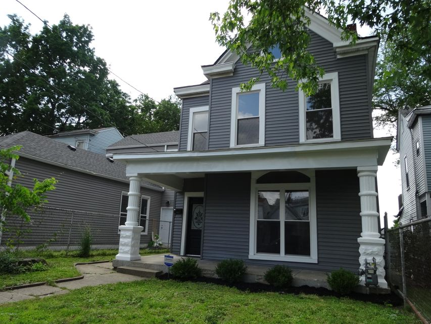 Single Family Home for Sale at 214 Pope Street 214 Pope Street Louisville, Kentucky 40206 United States