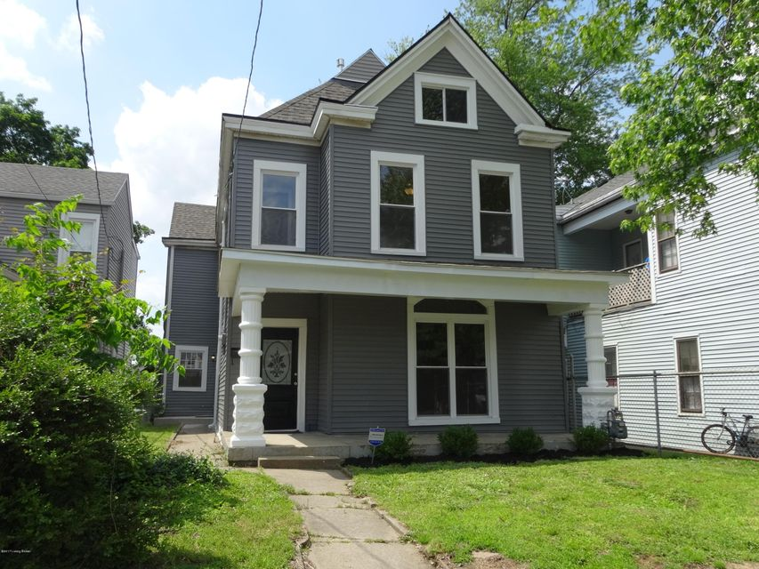 Single Family Home for Sale at 214 Pope Street Louisville, Kentucky 40206 United States