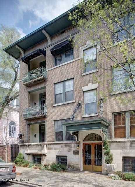 Condominium for Sale at 1481 Saint James Court Louisville, Kentucky 40208 United States