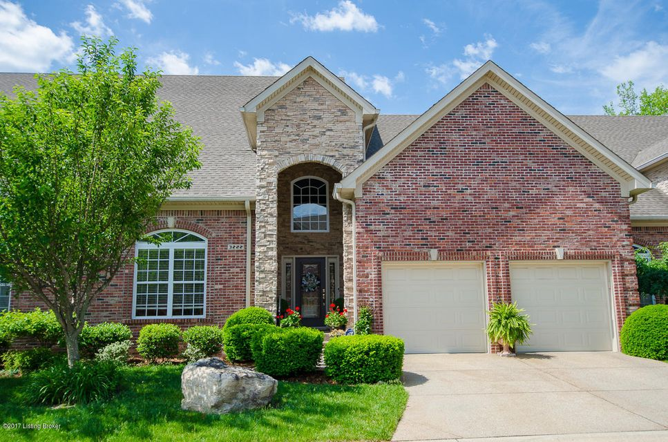 Condominium for Sale at 3222 Ridge Brook Circle 3222 Ridge Brook Circle Louisville, Kentucky 40245 United States