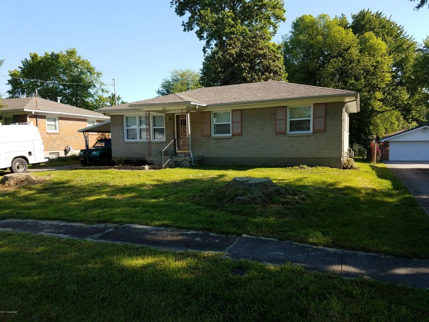 Single Family Home for Sale at 605 Tin Dor Way Fairdale, Kentucky 40118 United States